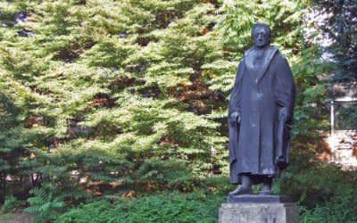 Goethe-Denkmal an der Ottostraße