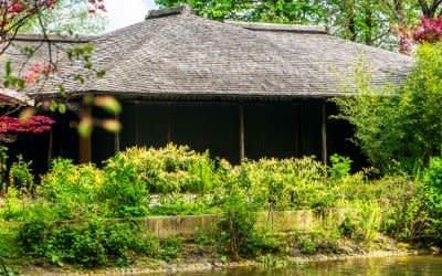 Das japanische Teehaus im Englischen Garten