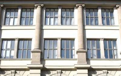 Das Literaturhaus von Außen