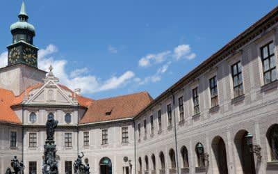 Brunnenhof der Residenz München