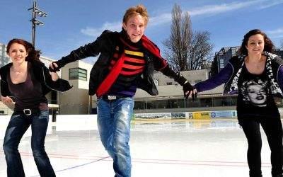 Prinzregentenstadion Eislaufen neue Saison beginnt
