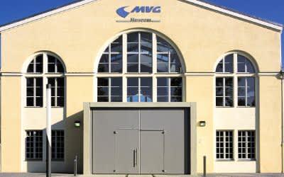 MVG Museum bei Tag von außen