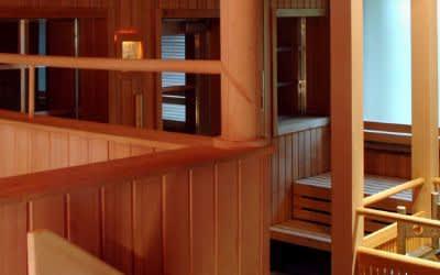 Die Sauna im Nordbad