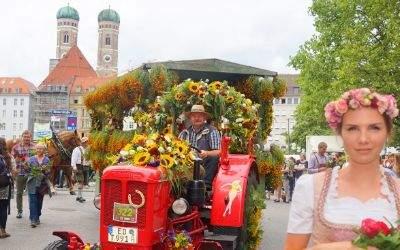 Gärtnerjahrtag in der Innenstadt