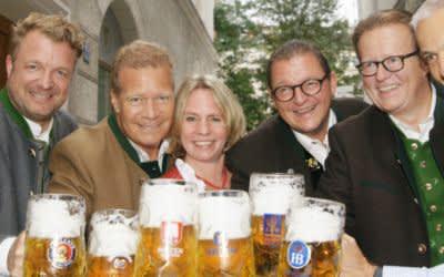 Die Geschäftsführer der sechs großen Münchner Brauereien