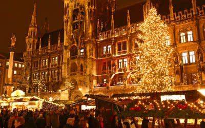 Lichter und Impressionen vom Münchner Christkindlmarkt 2017