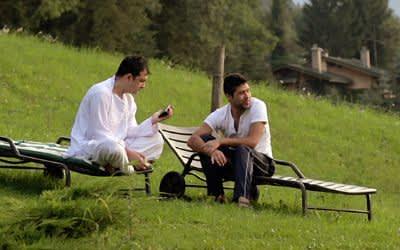 """Szene aus dem Film """"Café Waldluft"""""""