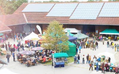 Ökologisches Hoffest in Riem