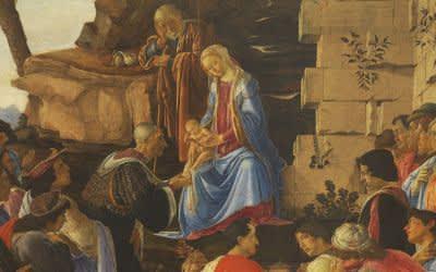 Sandro Botticelli, Anbetung des Kindes durch die Heiligen Drei Könige, um 1475