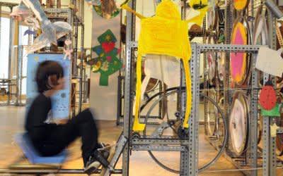 Die Mitmachmaschine im Kindermuseum