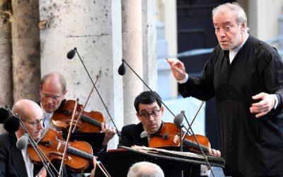 Klassik am Odeonsplatz 2018: Am Samstag spielten die Münchner Philharmoniker unter ihrem Chefdirigenten Valery Gergiev mit Juan Diego Flórez (Tenor)