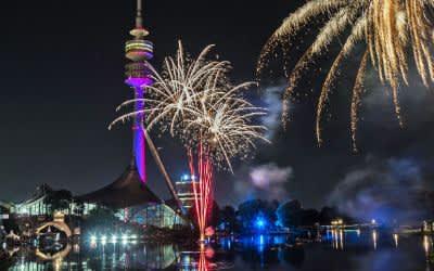 Feuerwerk beim Impark Sommerfestival