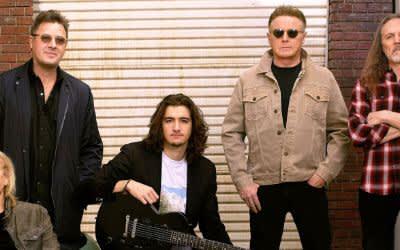 Die amerikanische Rockband Eagles