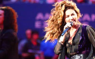 Country-Popstar Shania Twain