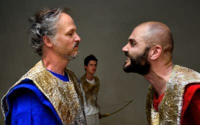 Sommertheater in der Antikensammlung: Philoktet