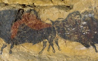 Szene aus der Höhle von Lascaux