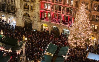 Eröffnung des Münchner Christkindlmarkts 2019
