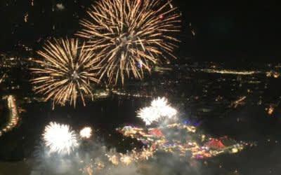 Feuerwerk beim Münchner Sommernachtstraum 2019