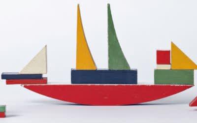 Alma Buscher (Siedhoff-Buscher), Bauspiel Schiff