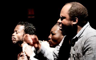 Congo von Faustin Linyekula beim Spielart Theaterfestival