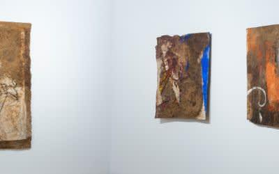 Ausstellungsansicht im Kunstbau des Lenbachhauses
