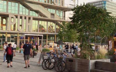 Sommer in der Stadt: Das Werksviertel ist dabei