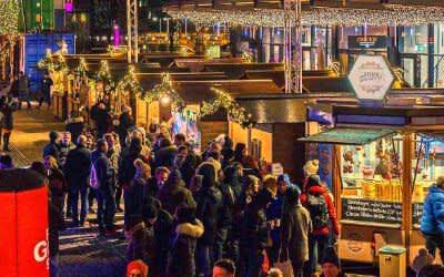 Zauberhafter Weihnachtsmarkt im Werksviertel Mitte