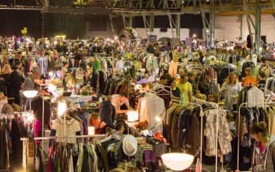 Nachtflohmarkt und Streetfoodmarkt