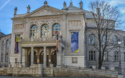 Prinzregententheater im Winter