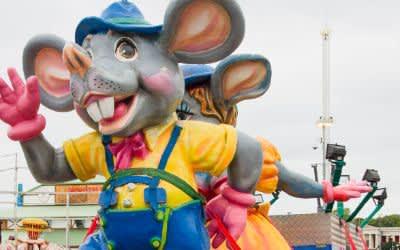 Wilde Maus Figuren