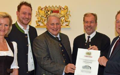 Auszeichnung für das Schottenhamel Festzelt