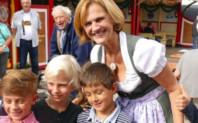 Wiesnbummel mit Karin Seehofer