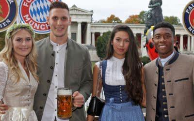 Auch in diesem Jahr feierte der FC Bayern München auf dem Oktoberfest.