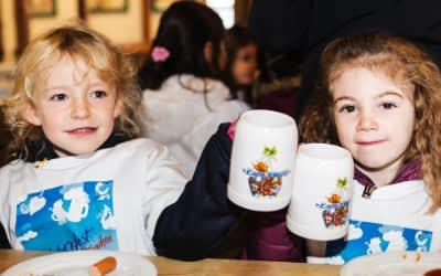 Wiesn-Bummel für 1100 Münchner Vorschulkinder