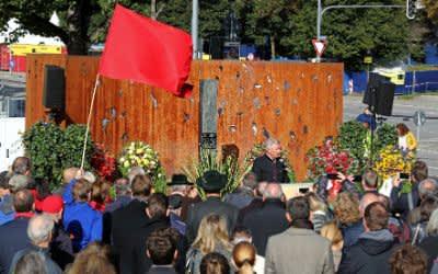 Gedenken an Wiesn-Attentat am Mahnmal für die Opfer