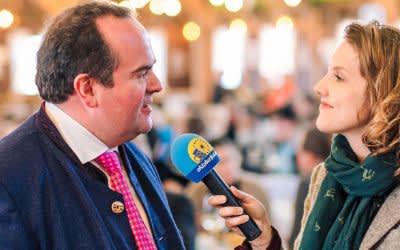 Interview mit Wirtschaftsreferent Clemens Baumgärtner