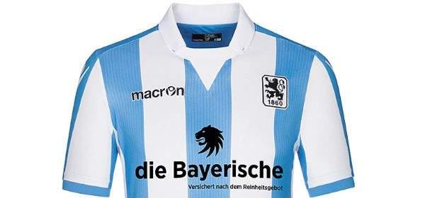 Das Trikot des TSV 1860 München für die Saison 2016/2017.