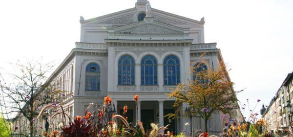 Das sanierte Gärtnerplatztheater von außen