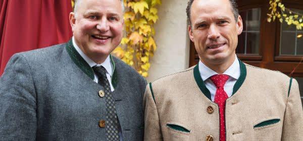 Peter Inselkammer und Christian Schottenhamel als neue Wiesnwirte-Sprecher