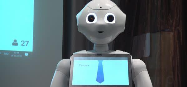 Rid Zukunftskongress: Roboter Pepper