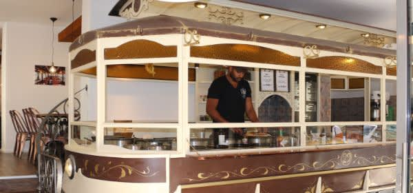 Tram Café in der Müllerstraße