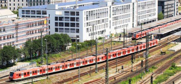 S-Bahn am Ostbahnhof