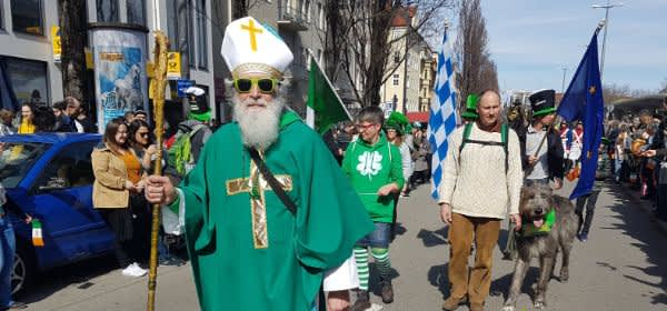 St. Patrick's Day Parade in München am 17.3.2019