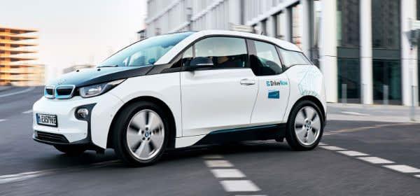 CarSharing-Fahrzeug von BMW