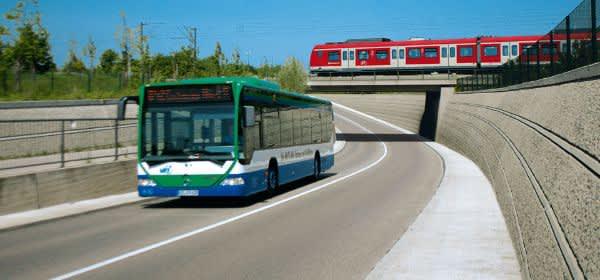 Bus und S-Bahn