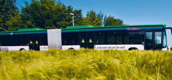 Bus im Münchner Umland