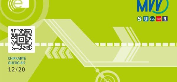 Neue MVV-Chipkarte