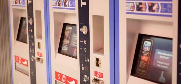 Ticketautomat der MVG