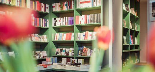 Die Münchner Buchhandlung Lehmkuhl in Schwabing