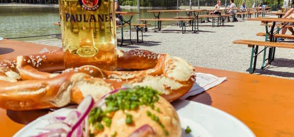 Seehaus im Englischen Garten: Biergarten zu Corona-Zeiten